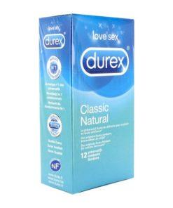 12 Preservativos Natural Clássico Durex 8424