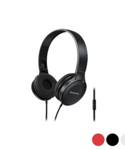 Auriculares com microfone Panasonic Corp. RP-HF100ME (3.5 mm)
