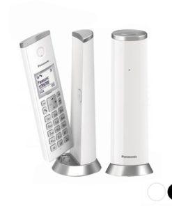 "Telefone sem fios Panasonic Corp. KX-TGK212SPW 1,5"" LCD DECT"