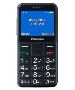 Telefone Móvel para Idosos Panasonic KX-TU150 TFT LCD Dual SIM Preto