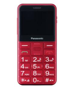 Telefone Móvel para Idosos Panasonic Corp. KX-TU150 TFT LCD Dual SIM Vermelho
