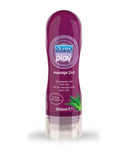 Gel lubrificante e óleo de massagem Play Massage 2 in 1 Aloe Vera Durex 78813