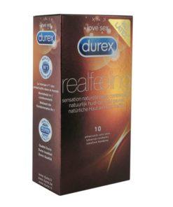 Preservativos Real Feeling 10 unidades Durex 3848