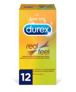 Preservativos Sensação Real Durex (12 uds)