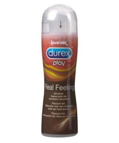 Lubrificante Play Real Feeling 50 ml Durex 38514