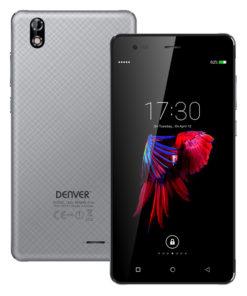 "Smartphone Denver Electronics SDQ-55024L 5,5"" IPS Quad Core 16 GB 2 GB RAM 4G Cinzento"