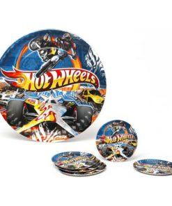 Conjunto de 5 Pratos Hot Wheels Cartão 113660