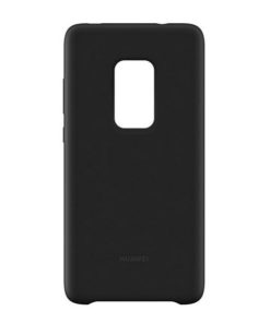 Capa para Telemóvel Huawei Mate 20 Silicone Preto