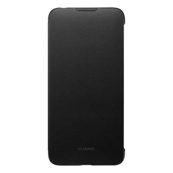 Capa tipo Livro para o Telemóvel Huawei Y7 2019 Preto