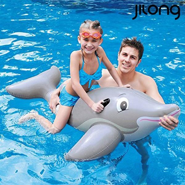 Colchão Insuflável Dolphin Rider Jilong 18736 (152 x 90 cm)