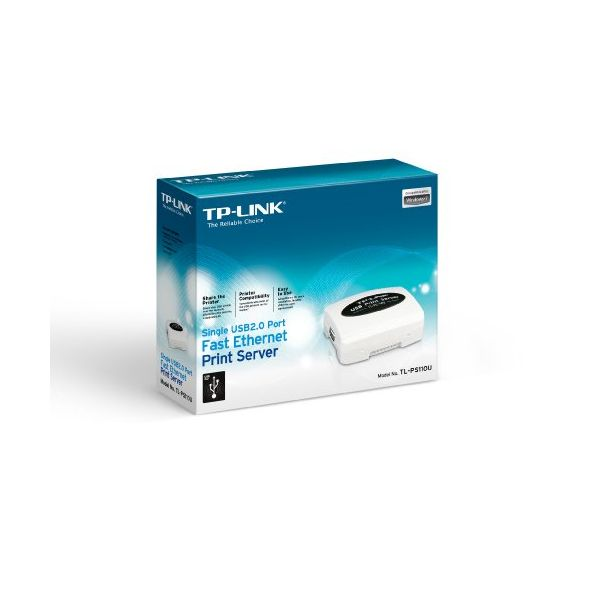 TP-LINK TL-PS110U Print Server Ethernet 1x USB 2.0