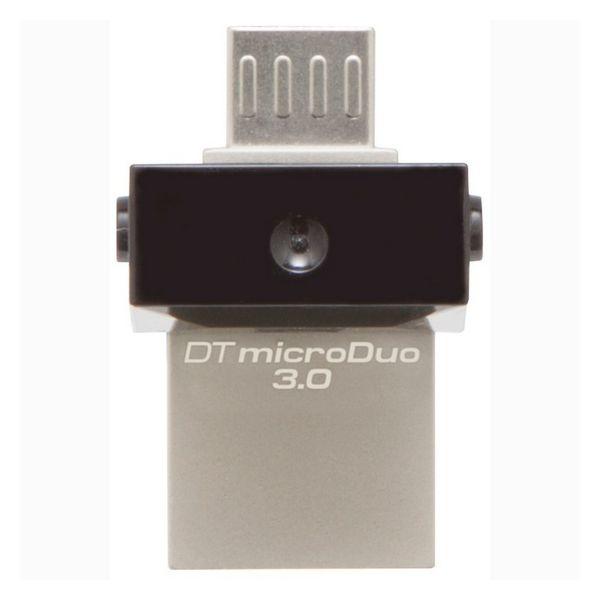 Memória USB e Micro USB Kingston DTDUO3 64 GB USB 3.0 Preto Cinzento
