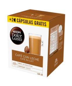 Cápsulas de café Nescafé Dolce Gusto Cafe au lait (18 Uds)