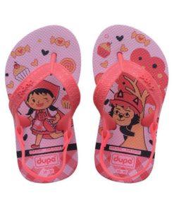 Chinelos para Crianças Dupé Fairytale Cor de rosa