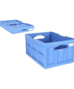 Caixa de Armazenamento Ursus Tontarelli 32 L Dobrável Azul (47,5 x 35,2 x 23 cm)