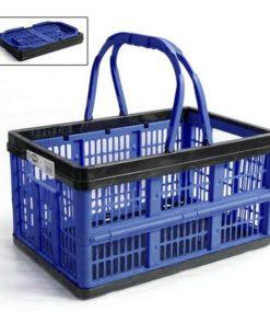 Caixa Dobrável com Alças Voilà Tontarelli 16 L Azul