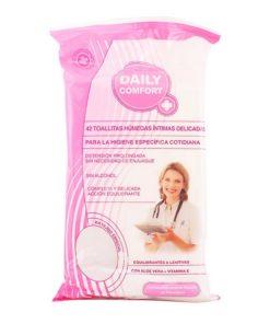 Toalhetes Húmidos Higiene Íntima Daily Comfort (42 uds)