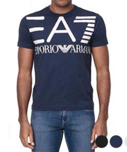 Camisola de Manga Curta Homem Armani Jeans 3GPT06