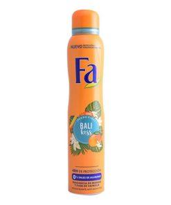 Desodorizante em Spray Bali Kiss Fa (200 ml)