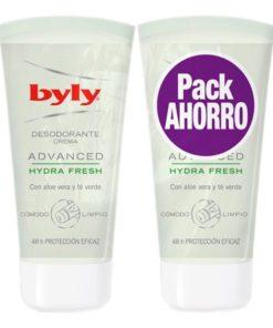 Desodorizante em Creme Advance Hydra Fresh Byly (2 uds)