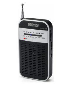 Rádio Transistor Daewoo DRP-105 S FM/AM Preto Cinzento