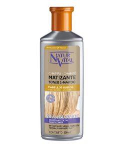 Champô Matizador para Cabelos Louros Naturaleza y Vida (300 ml)