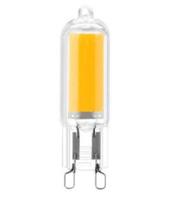 Lâmpada Led Silver Electronics ECO G9 3000K 3W Luz quente