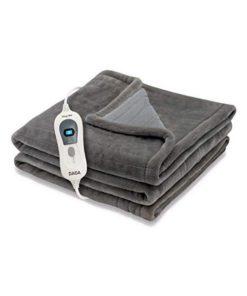 Cobertor Elétrico Daga SOFTY FLEECE 150W Castanho (150 x 150 cm)