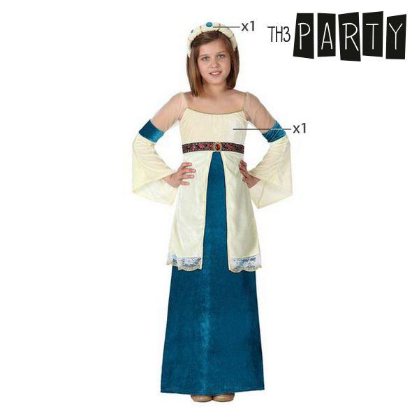 Fantasia para Crianças Dama medieval Azul
