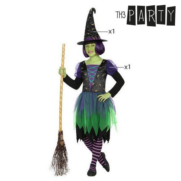 Fantasia para Crianças Bruxa (2 Pcs)