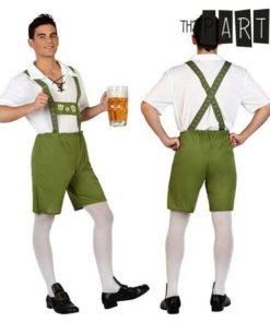 Fantasia para Adultos Alemão Verde (2 Pcs)