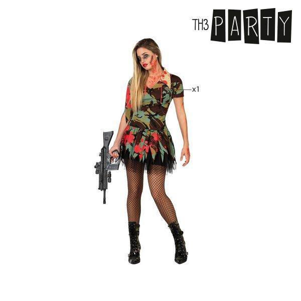 Fantasia para Adultos Militar zombie sexy