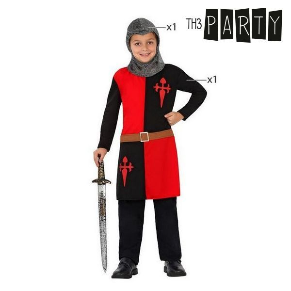 Fantasia para Crianças Guerreiro medieval (2 Pcs)