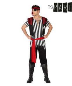 Fantasia para Adultos Pirata homem (5 Pcs)