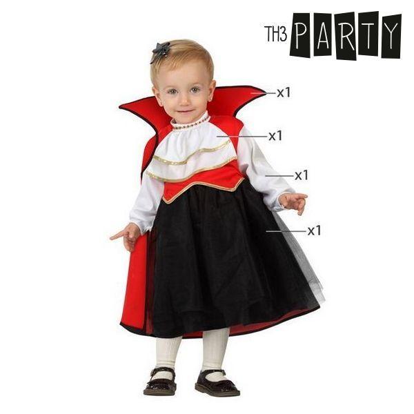 Fantasia para Bebés Vampiresa (4 Pcs)