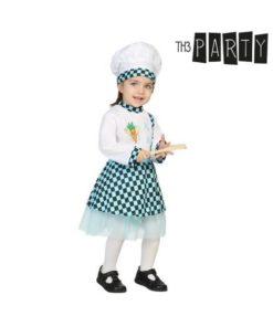 Fantasia para Bebés Cozinheira (3 Pcs)