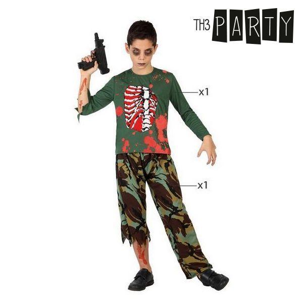 Fantasia para Crianças Militar zombie (2 Pcs)