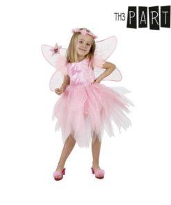 Fantasia para Crianças Th3 Party Fada Cor de rosa