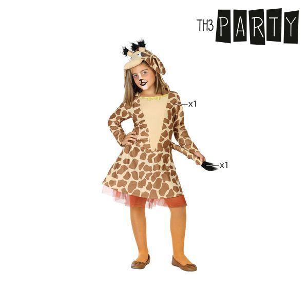 Fantasia para Crianças Girafa