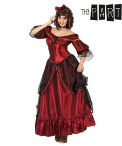 Fantasia para Adultos Dama sulista Vermelho