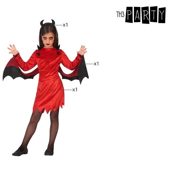 Fantasia para Crianças Demónia Vermelho (3 Pcs)