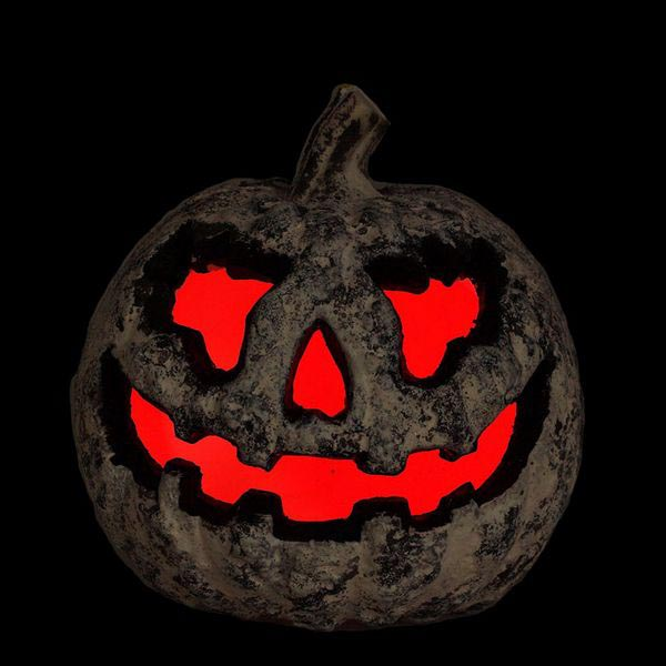 Figura Decorativa (21 x 17 cm) Abóbora Cinzento