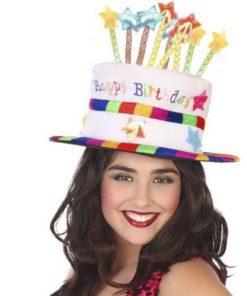 Chapéu de Aniversário (59 cm) Multicolor