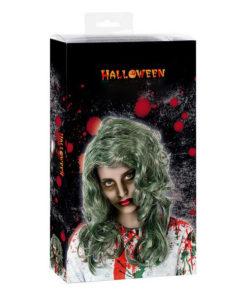 Peruca para Halloween Cinzento
