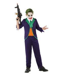 Fantasia para Crianças 112681 Palhaço Joker (3 Pcs)