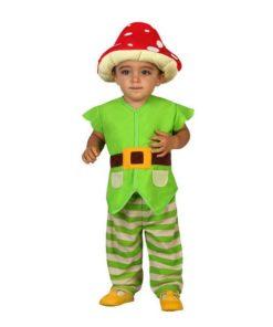 Fantasia para Bebés 112902 Duende Verde (3 Pcs)
