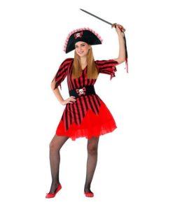 Fantasia para Crianças 116207 Pirata (Tamanho 14-16 anos)