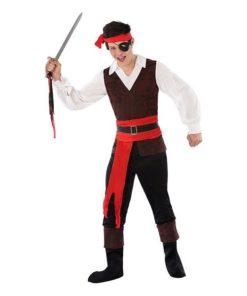 Fantasia para Crianças 116214 Pirata (Tamanho 14-16 anos)