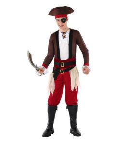 Fantasia para Crianças 116238 Pirata (Tamanho 14-16 anos)