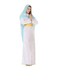 Fantasia para Adultos 115819 Virgem Branco Azul celeste (2 Pcs)